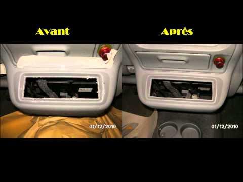 comment reparer trou de cigarette dans siege voiture