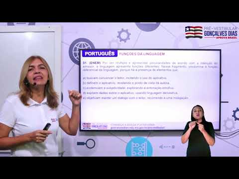 Aula 03 | Funções da linguagem - Parte 03 de 03 - Exercícios |Resolvidos - PORTUGUÊS