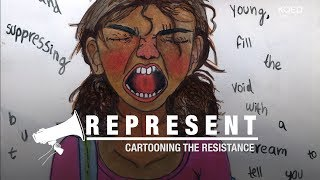 Oakland's 14-Year-Old Cartooning the Resistance