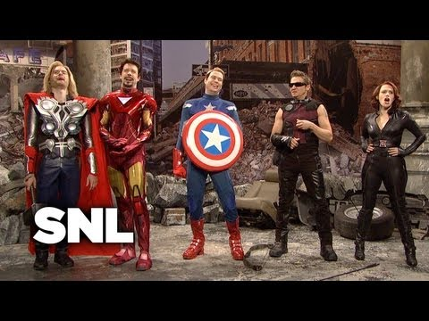 Hawkeye Disappoints the Avengers - SNL