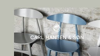 The CH33 Chair By Hans J. Wegner