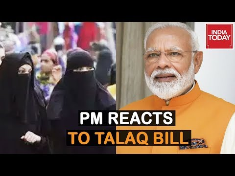 Archaic Practice Confined To Dustbin of History, PM Modi Reacts To Passage Of Triple Talaq Bill