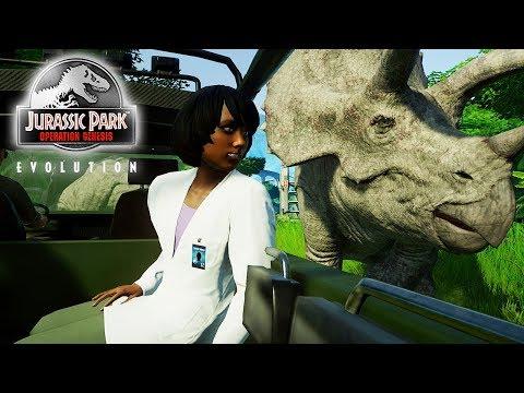 The World's LONGEST Jurassic Truck Tour! | JPOG Park (Jurassic World: Evolution)