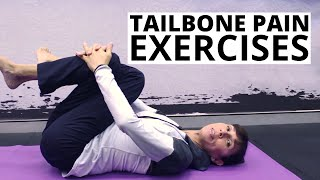 Tailbone Pain Exercises for Coccyx Pain Relief and Muscle Spasm