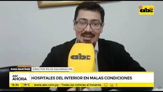 Hospitales del interior en malas condiciones
