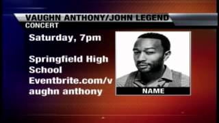 John Legend Concert Tomorrow