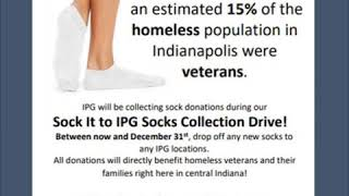 Drop Off Socks For Our Veterans