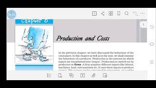 Identifying focus area (+2 micro economics) using NCERT textbook