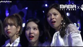 TWICE talking, dancing, and reacting to BTS
