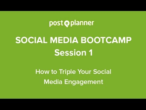 Social Media Training for All - How to Triple Your Social Media ...