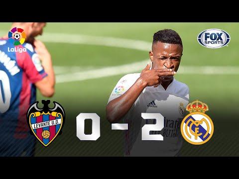 VINI JR. FAZ GOLAÇO E RODRYGO DÁ PASSE ESPETACULAR! Real Madrid vence o Levante por 2 a 0