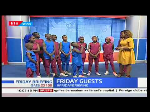 Young Impact dance group showcase their talents on the Friday Briefing floor