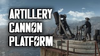 Artillery Platform - How to Build One - Fallout 4 Settlements