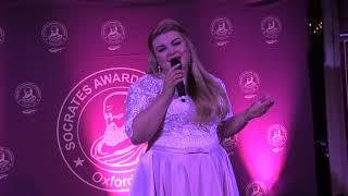 "Эллина Аристова, песня ""Космос"""
