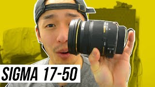 SIGMA 17-50 F2.8 EX DC OS HSM Review (BEST CHEAP Nikon ZOOM Lens?)