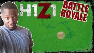 Battle Royale H1Z1 Gameplay - EXPERT HIGH LEVEL NAVIGATION! | H1Z1 BR Gameplay