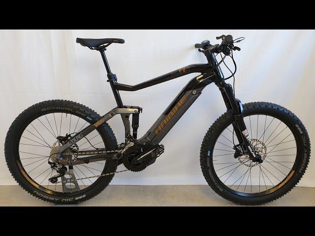 Видео Электровелосипед Haibike SDURO FullSeven LT 6.0 black/grey/bronce