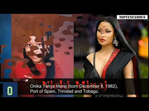 Nicki Minaj From Age 1 to 34