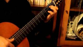Aura Lee-traditional-guitar solo