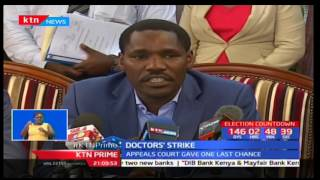 Doctors sign deal to end strike and expected to resume duty