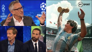 BT Sport pundits pay their respects to the late Diego Maradona