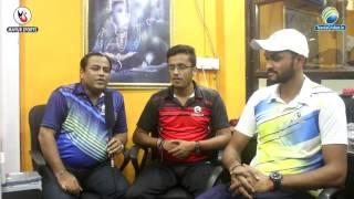 Prathmesh Pawar & Ajit Mohite   Mayur Sports Talk Show   Tennis Ball Cricket