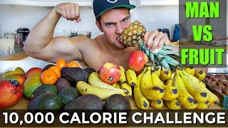 10,000 CALORIE FRUIT CHALLENGE | DO NOT TRY THIS!! (Furious Pete, Rob Lipsett, ETE callout)
