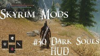 Skyrim Mods #30: Dark Souls HUD in Skyrim