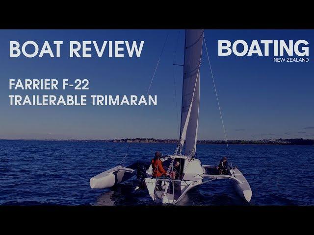 Boat Review - Farrier F22 Trailerable Trimaran