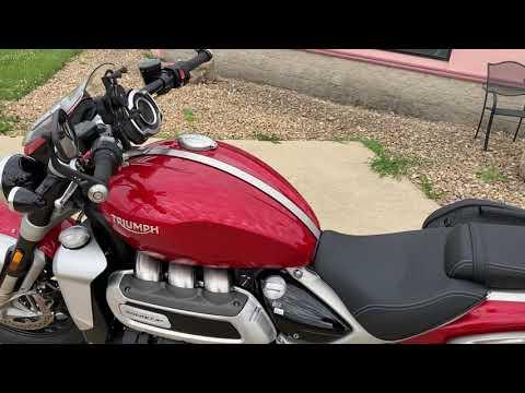 2021 Triumph Rocket 3 R in Belle Plaine, Minnesota - Video 2