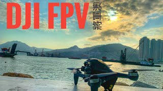 DJI FPV Test Flight 將軍澳 Goggles First Person View