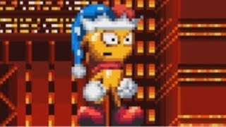 Spark The Forgotten Jester - Sonic Mania - Spark The Electric Jester Mod Showcase