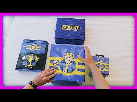 МОЯ ДЕВУШКА ОТКРЫВАЕТ LootCase коробку ИЗ АМЕРИКИ (Ценой в 7000 рублей) Fallout 76