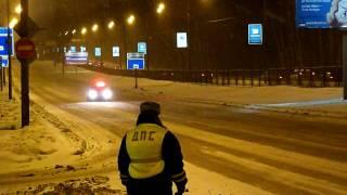 Рублёвское шоссе. Ежевечерняя рукотворная пробка.