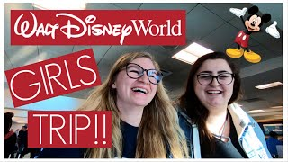 WE'RE GOING TO WALT DISNEY WORLD!! // FLYING TO ORLANDO