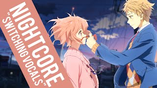 Nightcore | We Don't Talk Anymore (Switching Vocals) ✗