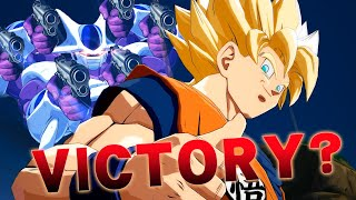 Dragonball FighterZ: Interrupting Victory Screens