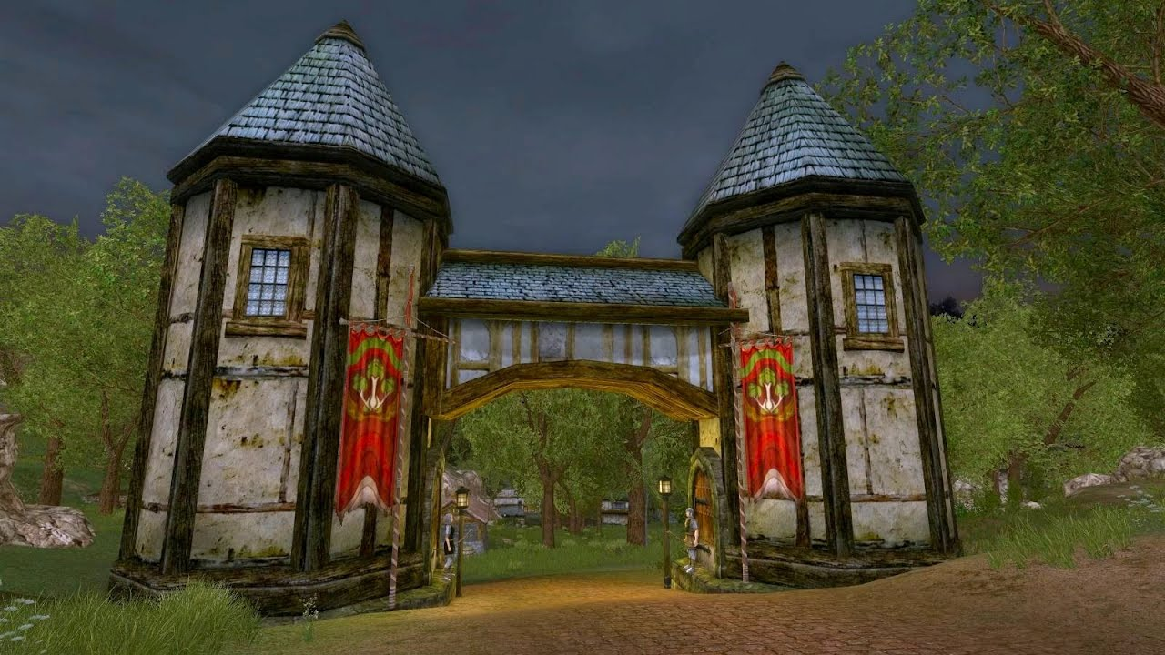 LOTRO - Bree-land Ambience - Combe & Staddle - Lord of the Rings Online