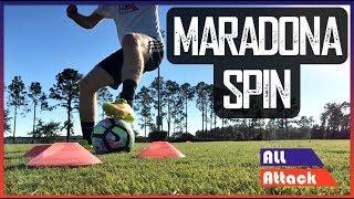 Maradona Spin Roulette Football Soccer Skills