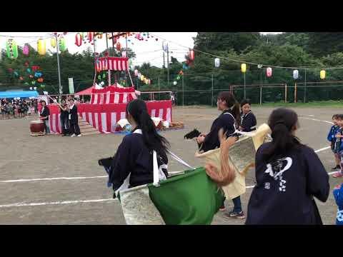 和光鶴川幼稚園「町内会の盆踊りに参加しました」