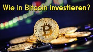 Wie kann ich in Bitcoin investieren