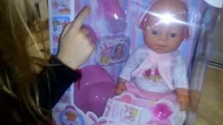 Обзор Беби Борн Малятко немовлятко / Baby born