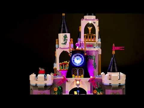 BriksMax Light Kit For Lego Princess Cinderella's Dream Castle 41154