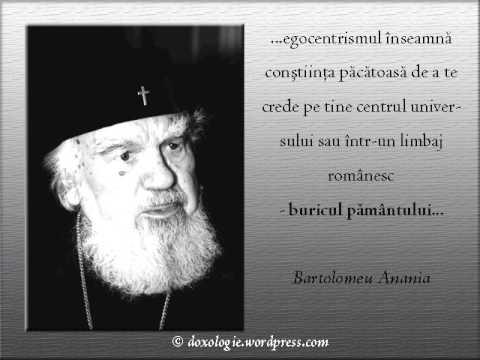 IPS Bartolomeu Anania despre linguseala