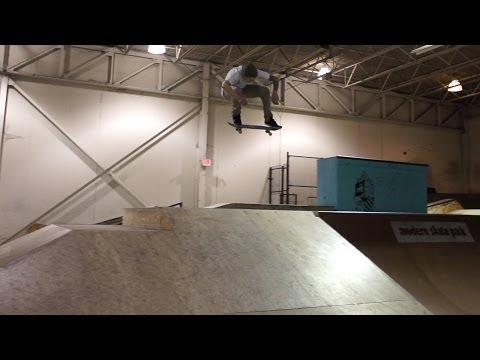Dustin Blauvelt at Modern Skatepark