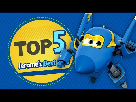 Jerome's Best Clips | Top 5 | Superwings Hot Clips Highlight