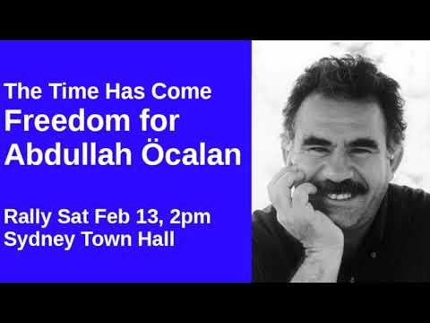 Sydney Car Convoy for Freedom for Abdullah Öcalan