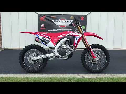2019 Honda CRF450RWE in Greenville, North Carolina - Video 1