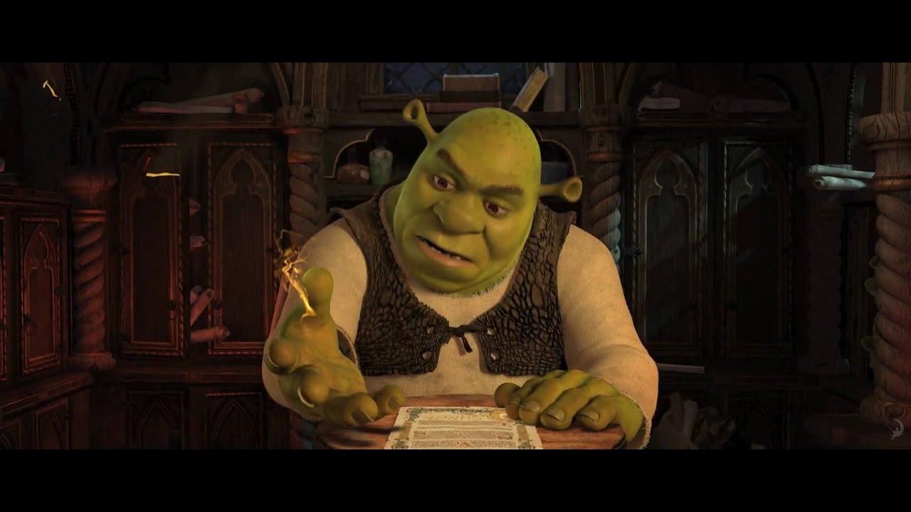 Trailer för Shrek - nu och för alltid