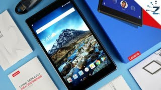 Lenovo Tab4 8 Plus Tablet Unboxing and Hands On! 🤔 - dooclip.me